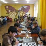 Турнирный зал отделения шашек