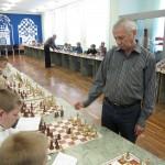 Турнирный зал отделения шахмат